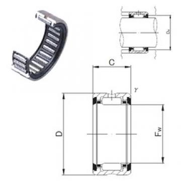JNS RNA 4903UU needle roller bearings