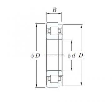 400 mm x 600 mm x 90 mm  KOYO NUP1080 cylindrical roller bearings